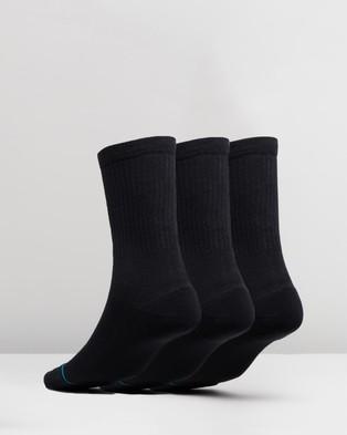 Stance Icon 3 Pack Underwear & Socks Black 3-Pack