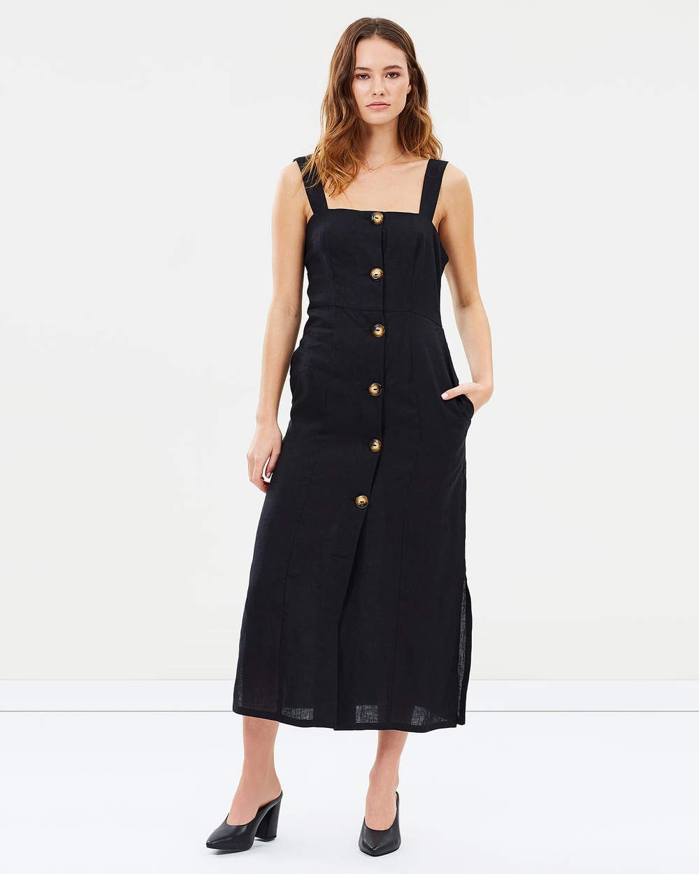 Jillian Boustred Chloe Dress Dresses Black Chloe Dress