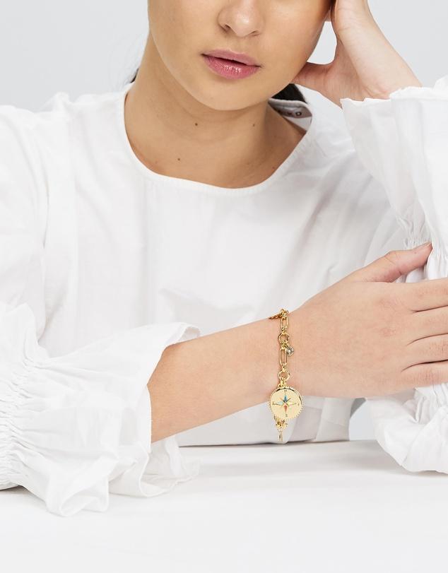 Women My Medallion Charm Bracelet