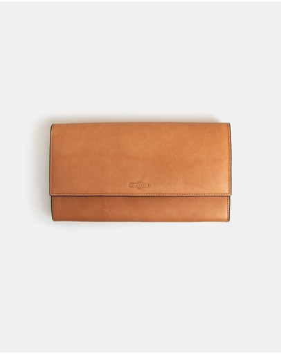 Globite - Leather Travel Clutch with RFID