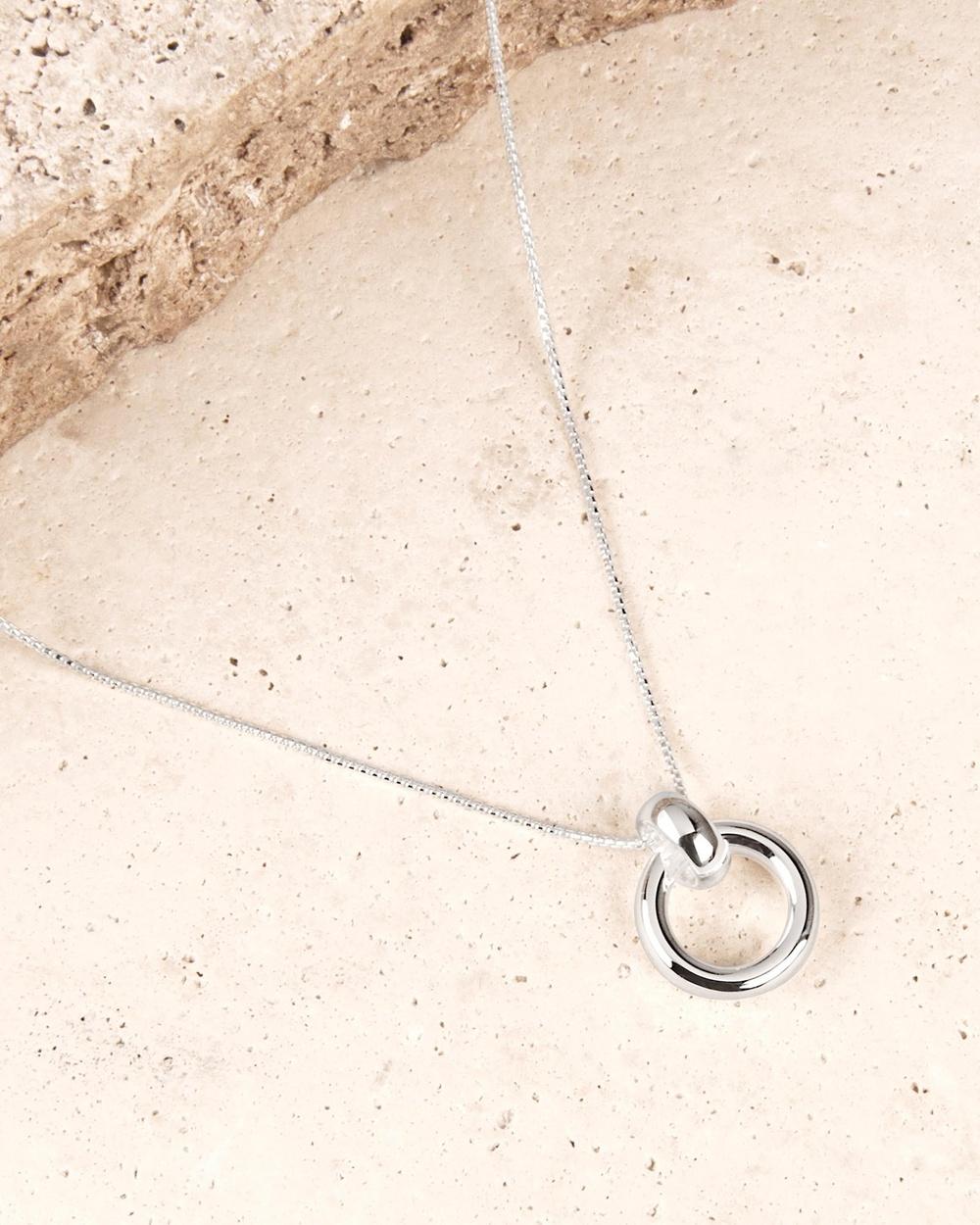 Najo Roma Pendant Necklace Jewellery Silver