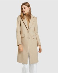 Oxford - Ruby Tailored Wool Blend Coat