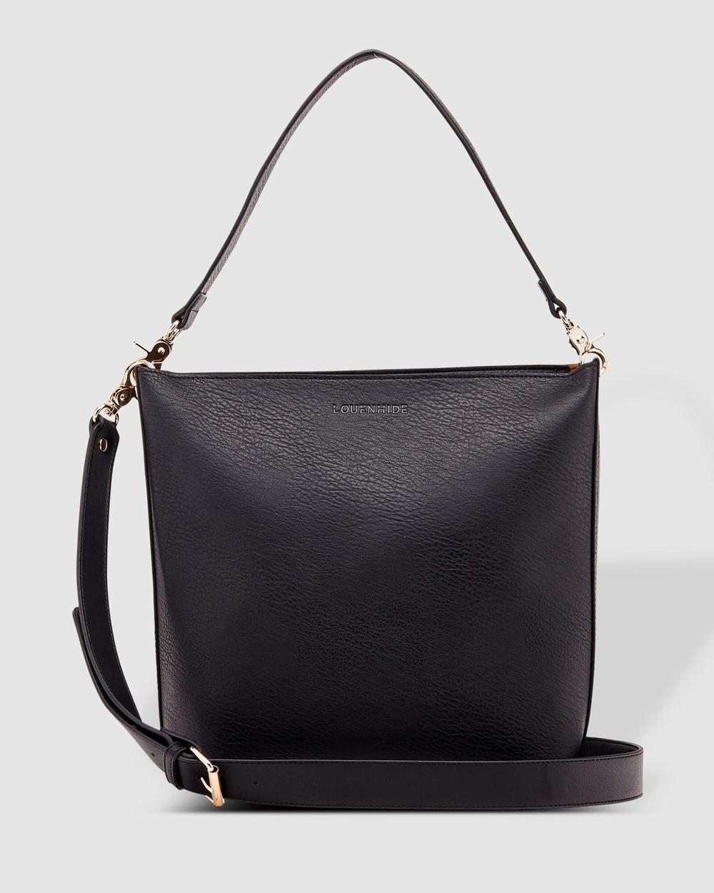 Louenhide Charlie Maxi Bag Handbags Black