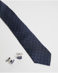 Ted Baker - Toffee Tie and Cufflink Gift Set