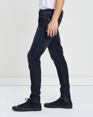 Volcom 2x4 Tapered Skinny Fit Jeans - Jeans (Blue)