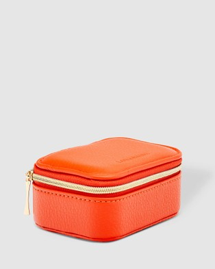 Louenhide Suzie Jewellery Box - Travel and Luggage (Orange)
