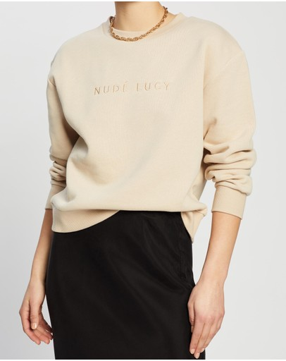 Nude Lucy Embroidered Sweat Sand