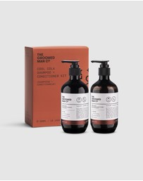 The Groomed Man Co - Cool Cola Hair & Beard Shampoo Conditioner Kit