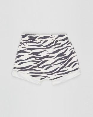 Cotton On Baby Sawyer Shorts   Babies - Clothing (Dark Vanilla & Marty Zebra)