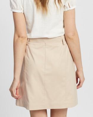 Marcs Clarissa Utility Skirt - Skirts (SAND)