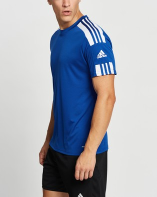 adidas Performance Squad 21 Short Sleeve Jersey Top - Short Sleeve T-Shirts (Team Royal Blue & White)