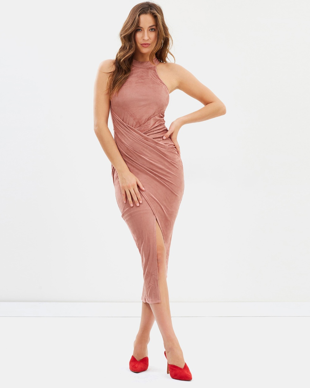 Fresh Soul After Dark Dress Bodycon Dresses Rose After Dark Dress