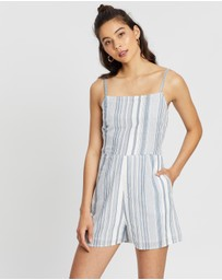 All About Eve - Emeile Stripe Playsuit