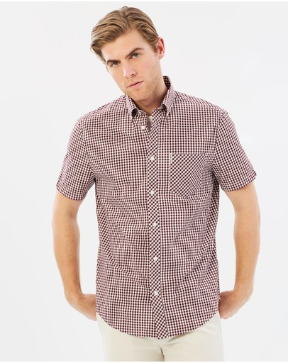 Ben Sherman - Short Sleeved Gingham Shirt