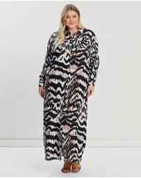 EVANS - Tiger Shirt Dress