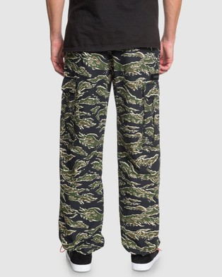 DC Shoes Mens Banded Cargo Pant - Cargo Pants (S1 20 CAMO)