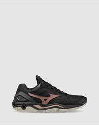 Mizuno - Wave Stealth V NB (D Wide) - Women's