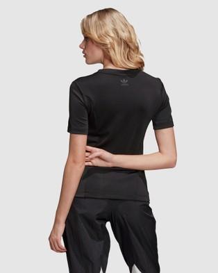 adidas Originals Adicolor Tee - Short Sleeve T-Shirts (Black)