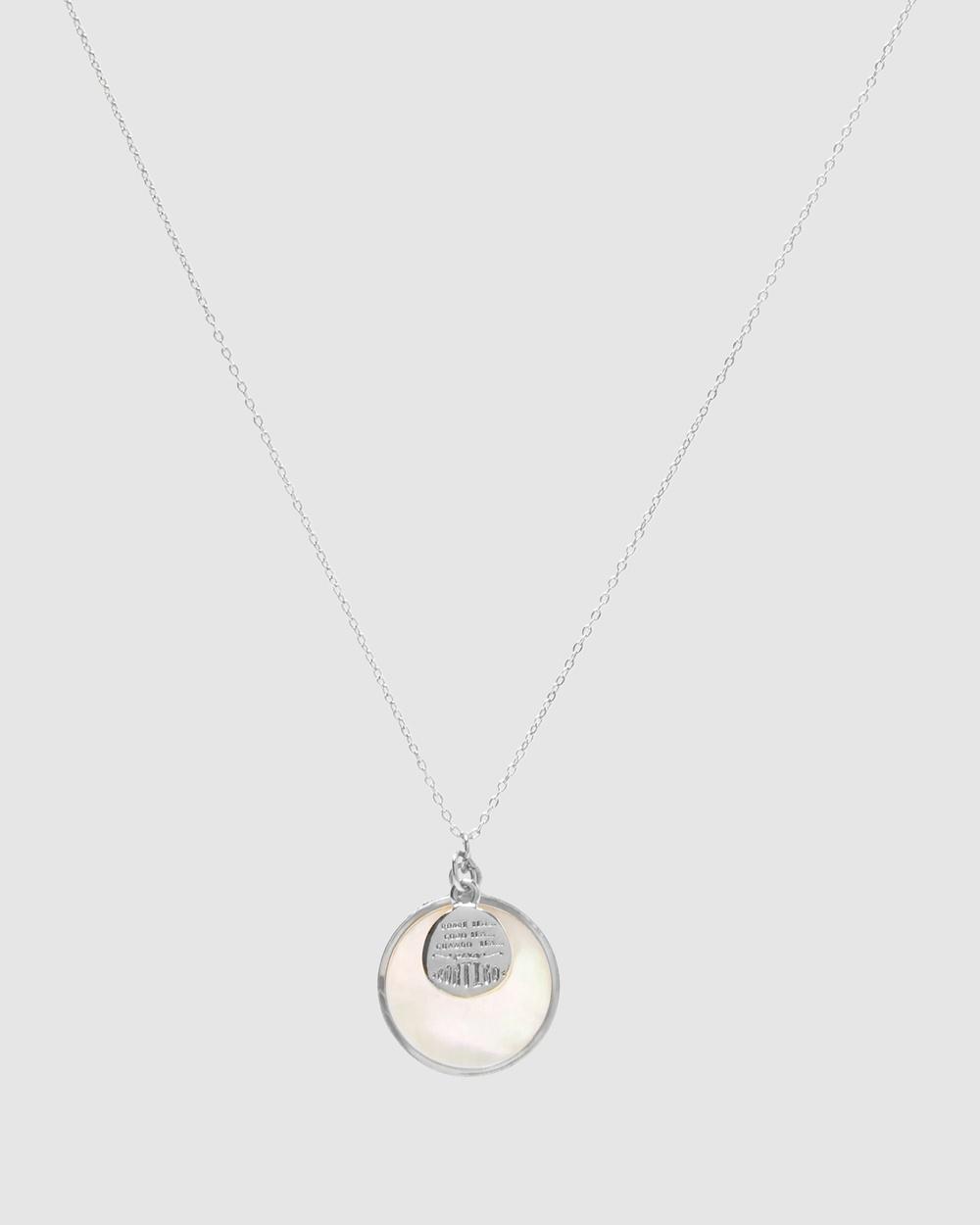 Dear Addison Isla Necklace Jewellery Silver