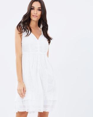 Kaja Clothing – Lyila Dress White