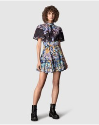 LEO & LIN - Flower Garden Short Dress