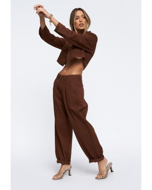 Lioness The Mickey Jacket - Clothing (Brown)