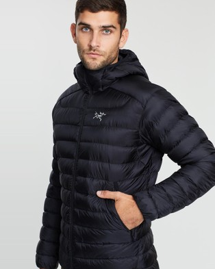 Arc'teryx Cerium LT Hooded Jacket - Coats & Jackets (Black)