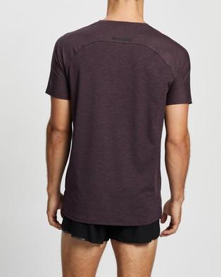 2XU XCTRL SS Tee - Short Sleeve T-Shirts (Sloe & Black)