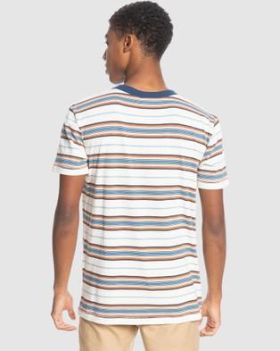 Quiksilver - Mens Guytou T Shirt - T-Shirts & Singlets (ANTHIQUE WHITE GUYTO) Mens Guytou T-Shirt