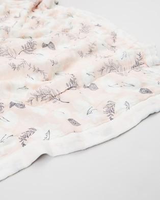 Aden & Anais - Soft Petals Silky Soft Dream Blanket   Babies - Blankets (Pretty Petals) Soft Petals Silky Soft Dream Blanket - Babies