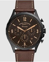 Fossil - Forrester Brown Chronograph Watch