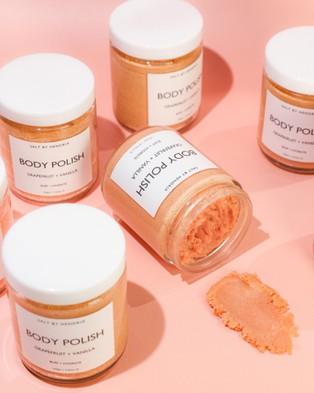 Salt by Hendrix Body Polish   Pink Grapefruit + Vanilla - Bath (Orange)