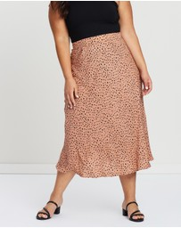 Atmos&Here Curvy - ICONIC EXCLUSIVE - Khloe Midi Skirt
