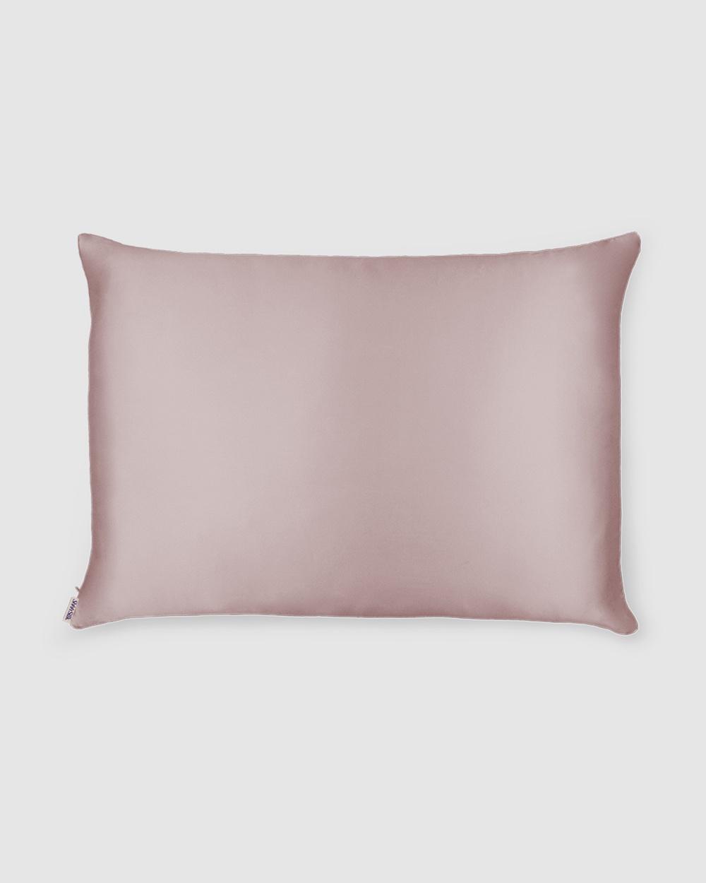 Shhh Silk Pillowcase Queen Size Sleep Mauve