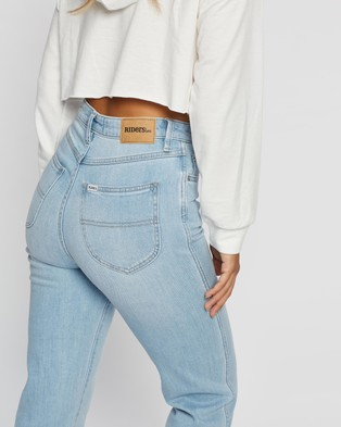 Riders by Lee Hi Straight Jeans - High-Waisted (Urban Distress)