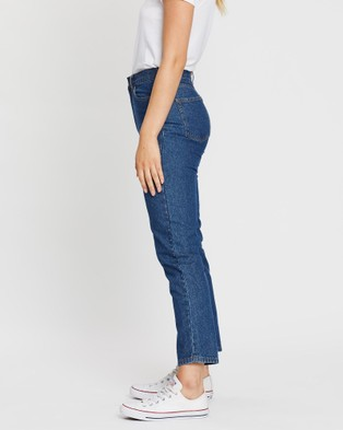SABA Alex Straight Leg Jeans - Jeans (blue)