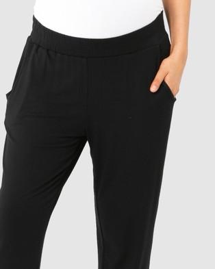 Bamboo Body Peggy Trouser - Pants (Black)