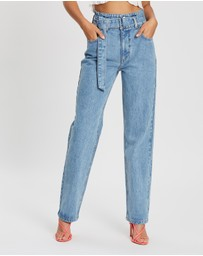 Dazie - Chosen Belted Denim Jeans