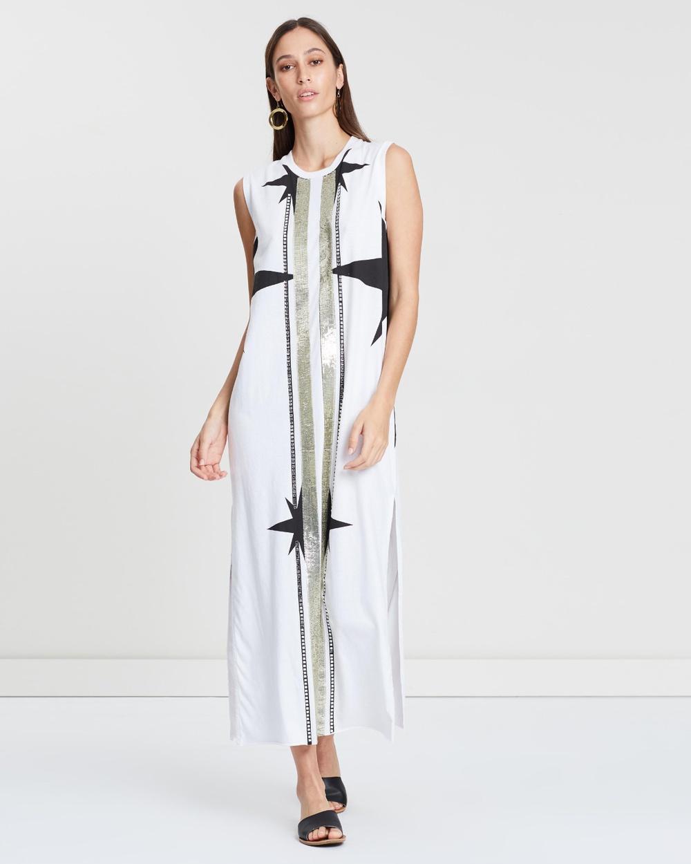 Sass & Bide Ivory Society High Dress