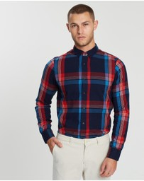 Scotch & Soda - Flannel Regular Fit Shirt