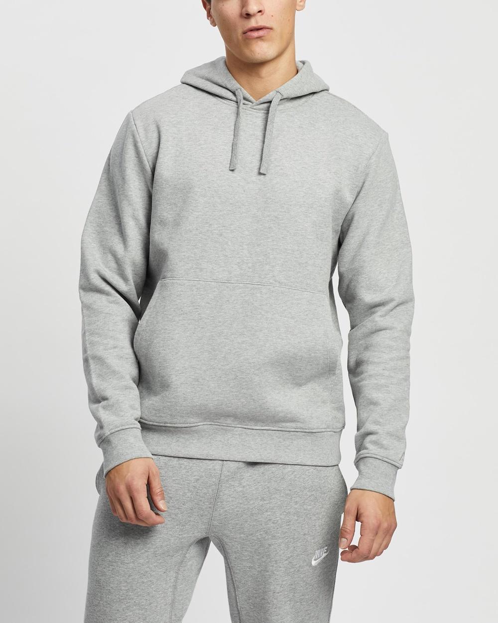 AERE Organic Cotton Hoodie Hoodies Grey Marle