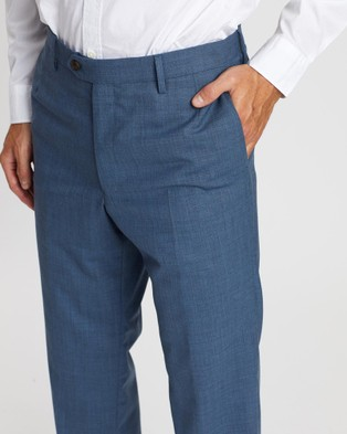 Gieves and Hawkes Tailored Trousers - Pants (Blue)