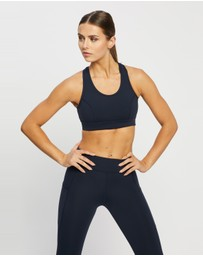 Running Bare - No Bounce Long Line Sports Bra