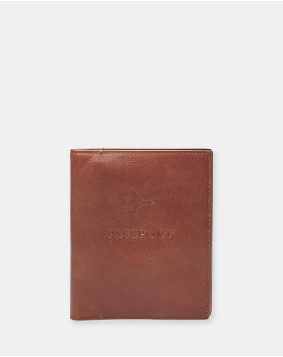 Fossil - Brown Passport Case