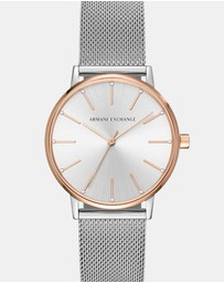Armani Exchange - Silver Women's Analogue Watch