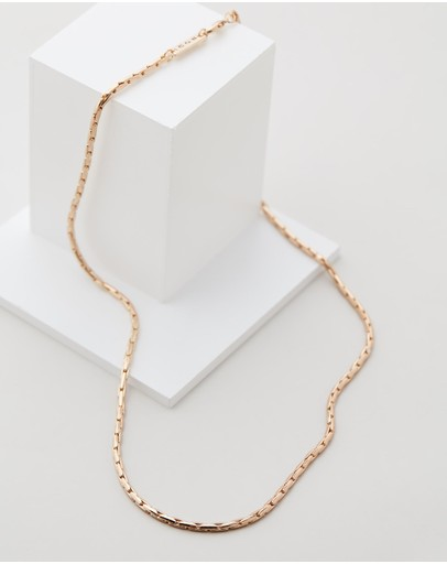Icon Brand Entity Necklace Gold