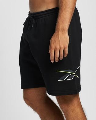 Reebok Classics Knit Shorts - Shorts (Black)