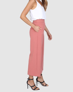 Madison The Label Kendra Culottes - Pants (Clay)