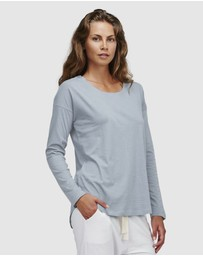 Cloth & Co. - Organic Cotton Crew Neck Long Sleeve Top