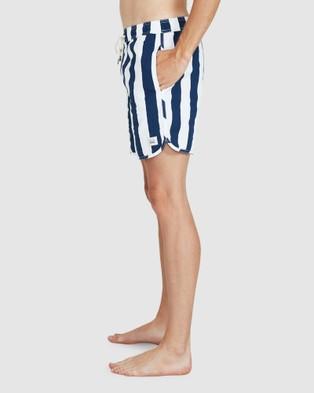 Arvust St Martin Volley Boardshorts - Swimwear (NAVY)